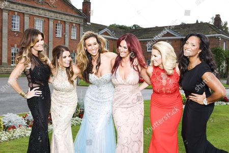Dawn Ward, Tanya Bardsley, Ampika Pickston, Lauren Simon, Leanne Brown and Magali Gorre