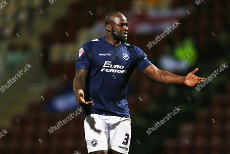 Stock Photo of Danny Shittu of Millwall