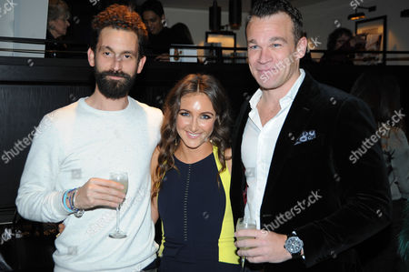 Stock Image of Fabrice Limon, Natasha Corrett and Simon Bateman