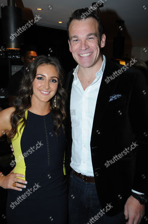 Stock Picture of Natasha Corrett and Simon Bateman