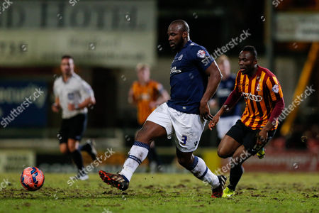 Stock Image of Danny Shittu of Millwall in action