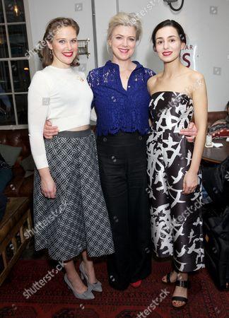 Louise Calf, Caroline Harker & Serena Manteghi