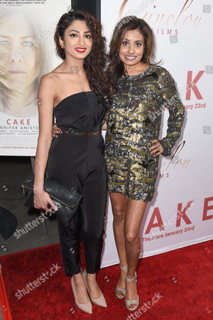 Editorial photo of 'Cake' film premiere, Los Angeles, America - 14 Jan 2015
