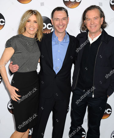 Felicity Huffman, Paul Lee and Timothy Hutton