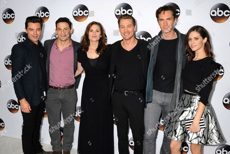 Enver Gjokaj, Hayley Atwell, Chad Michael Murray, James D'Arcy, Lyndsy Fonseca