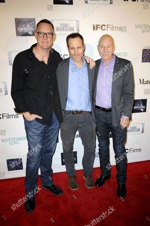 Matthew Lillard, Sir Patrick Stewart & Stephen Belber