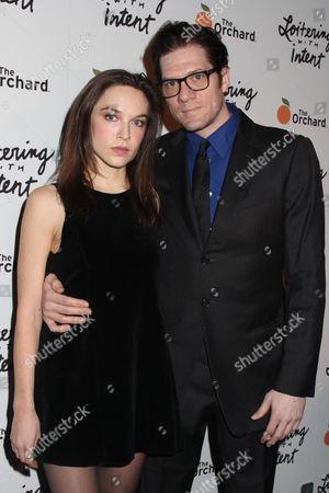 Hallie Newton and Adam Rapp (Director)