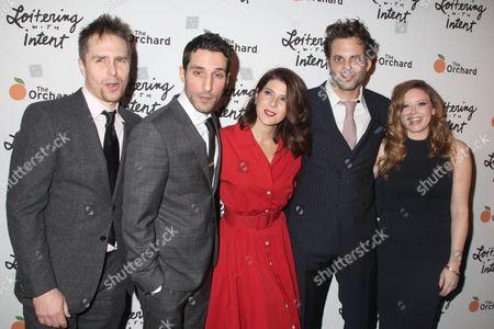 Stock Image of Sam Rockwell, Michael Godere, Marisa Tomei, Ivan Martin, Natasha Lyonne