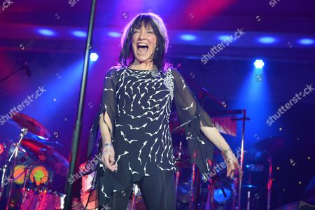 Stock Picture of The Giants of Rock Festival, Minehead, Somerset  - The Bev Bevan Band -  Joy Strachan-Brain
