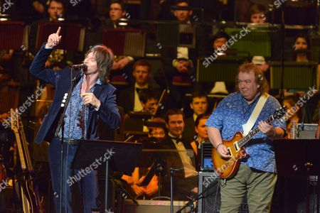 Celebrating Jon Lord at the Royal Albert Hall, London - Phil Campbell and Bernie Marsden