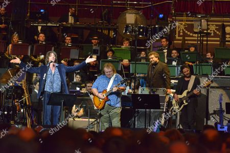 Celebrating Jon Lord at the Royal Albert Hall, London - Phil Campbell, Bernie Marsden, Paul Mann and Nick Fyffe