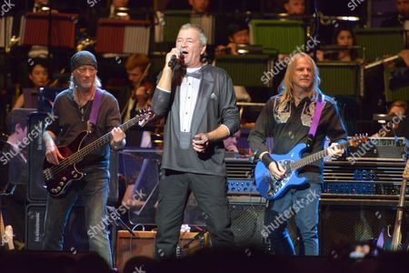 Celebrating Jon Lord at the Royal Albert Hall, London - Deep Purple  - Roger Glover, Ian Gillan and Steve Morse
