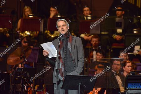 Celebrating Jon Lord at the Royal Albert Hall, London - Jeremy Irons