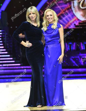 Zoe Ball and Camilla Dallerup