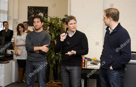 Stock Image of Jon Oringer, Ben Pfeifer, David Fraga