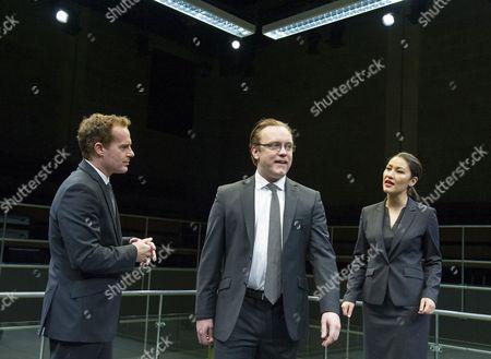 Sam Troughton as Thomas, Adam James as Tony, Eleanor Matsuura as Isobel