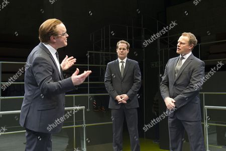 Adam James as Tony, Sam Troughton as Thomas, Neil Stuke as Carter