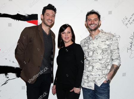 Sam Talbot, Debi Mazar and Gabriele Corcos