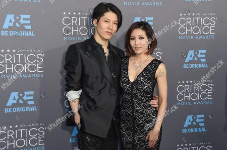 Stock Image of Miyavi and Melody Ishihara