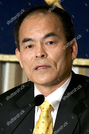 Editorial photo of Shuji Nakamura press conference, Tokyo, Japan - 16 Jan 2015