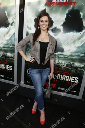 HOLLYWOOD, CA - MAY 23: Katie Featherston at Special Fan Screening of Warner Bros. 'Chernobyl Diaries' at ArcLight Cinemas Cinerama Dome on May 23, 2012 in Hollywood, California.