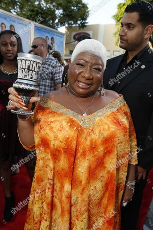 Stock Image of WESTWOOD, CA - JUNE 4: Luenell Campbell at the World Premiere of Columbia Pictures' 'That's My Boy' at the Regency Village Theatre in Westwood, California.