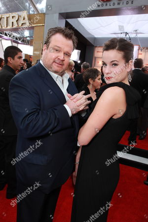 LOS ANGELES, CA - JANUARY 30: Eric Stonestreet and Katherine Tokarz at the Arrivals for the 17th Annual Screen Actors Guild Awards on January 30, 2011 at the Shrine Auditorium in Los Angeles, California.