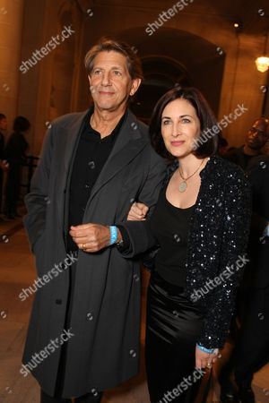 SAN FRANCISCO, CA - OCTOBER 28: Peter Coyote and Stephanie Coyote at Focus Features World Premiere of 'MILK' on October 28, 2008 at the Castro Theatre in San Francisco, CA. (Photo by Eric Charbonneau/Le Studio/Wireimage)