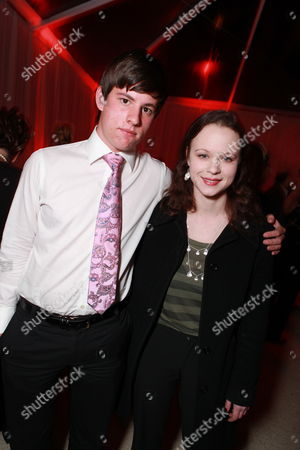 LOS ANGELES, CA - FEBRUARY 24: Bolt Birch and Thora Birch at The Hollywood Reporter Nominees' Night celebrating the Ten Best Pictures Nominees at The Getty House on February 24, 2011 in Los Angeles, California. Bolt Birch Thora Birch