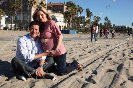 SANTA MONICA, CA-JANUARY 17: Andrew and Ivana Firestone in Santa Monica, CA on January 17, 2009.