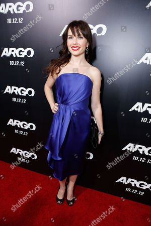 Stock Picture of BEVERLY HILLS, CA - OCTOBER 04: Kelly Curran at the Los Angeles Premiere Of Warner Bros. Pictures' 'Argo' held at AMPAS Samuel Goldwyn Theater on October 4, 2012 in Beverly Hills, California. Kelly Curran