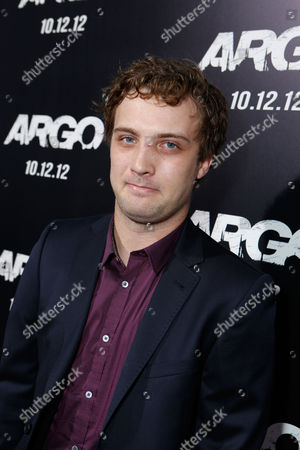 Stock Image of BEVERLY HILLS, CA - OCTOBER 04: Jozef Fahey at the Los Angeles Premiere Of Warner Bros. Pictures' 'Argo' held at AMPAS Samuel Goldwyn Theater on October 4, 2012 in Beverly Hills, California. Jozef Fahey