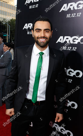 BEVERLY HILLS, CA - OCTOBER 04: Farshad Farahat at the Los Angeles Premiere Of Warner Bros. Pictures' 'Argo' held at AMPAS Samuel Goldwyn Theater on October 4, 2012 in Beverly Hills, California. Farshad Farahat