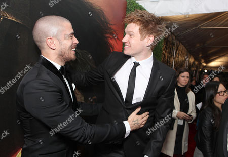 NEW YORK, NY - DECEMBER 04: Toby Kebbell and Matt Milne at The World Premiere of DreamWorks Pictures' 'War Horse' at Avery Fisher Hall at Lincoln Center for The Performing Arts on December 04, 2011 in New York City, NY. Toby Kebbell Matt Milne