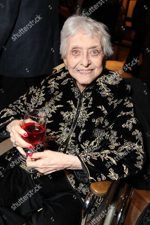 Stock Photo of NEW YORK, NY - DECEMBER 04: Celeste Holm at The World Premiere of DreamWorks Pictures' 'War Horse' at Avery Fisher Hall at Lincoln Center for The Performing Arts on December 04, 2011 in New York City, NY. Celeste Holm