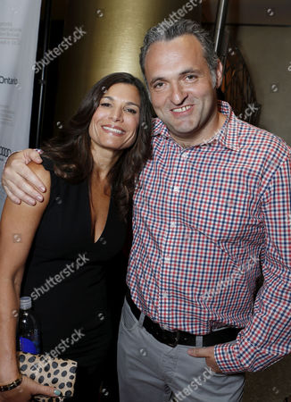 TORONTO, ON - SEPTEMBER 08: Producer Michelle Murdocca and Director Genndy Tartakovsky at Columbia Pictures 'Hotel Transylvania' Premiere At 2012 Toronto International Film Festival held at The Princess Whales Theatre on September 8, 2012 in Toronto, Canada.