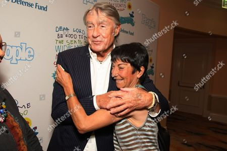BEVERLY HILLS, CA - OCTOBER 23: Joel Schumacher and Rosalie Swedlin at People Magazine Luncheon honoring Children's Defense Fund's Marian Wright Edelman on October 23, 2008 at the Beverly Hills Hotel in Beverly Hills, CA.