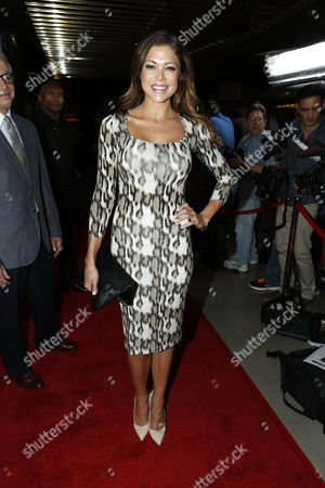 LOS ANGELES, CA - AUGUST 07: Hilary Cruz attends the VIP screening for 'Freelancers' premiering in select theaters August 10 and available on Blu-ray and DVD August 21 from Lionsgate Home Entertainment at Mann Chinese 6 on August 7, 2012 in Los Angeles, California.