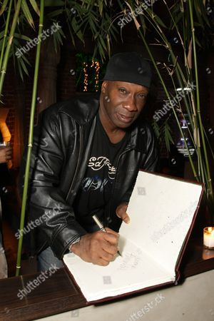 Stock Photo of SANTA MONICA, CA - DECEMBER 12: Michael Clark Duncan at Bay Films' Holiday Party hosted by Dewars on December 12, 2008 in Santa Monica, California.