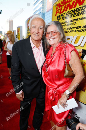 LOS ANGELES, CA - AUGUST 14: Robert Loggia and Audrey Loggia at Open Road Films 'Hit And Run' Los Angeles Premiere at Regal Cinemas L.A. LIVE Stadium 14 on August 14, 2012 in Los Angeles, California. Robert Loggia Audrey Loggia
