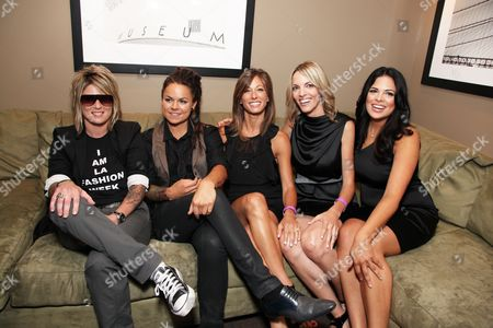 WEST HOLLYWOOD, CA - JUNE 15: Mikey Koffman, Whitney Mixter, Jill Sloane Goldstein, Nikki Weiss and Rose Garcia at the Premiere of Showtime's New Reality Series 'The Real L Word' on June 15, 2010 at East/West Lounge in West Hollywood, California.
