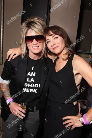 WEST HOLLYWOOD, CA - JUNE 15: Mikey Koffman and Exec. Producer Ilene Chaiken at the Premiere of Showtime's New Reality Series 'The Real L Word' on June 15, 2010 at East/West Lounge in West Hollywood, California.