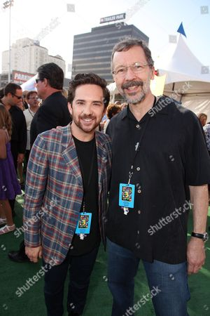 HOLLYWOOD, CA - JUNE 13: John Morris and Pixar's Ed Catmull at the World Premiere of Disney/Pixar's 'Toy Story 3' on June 13, 2010 at the El Capitan Theatre in Hollywood, California.