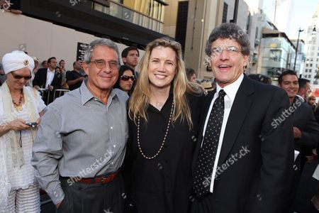 HOLLYWOOD, CA - JULY 13: Ron Meyer, Cindy Horn and Warner's Alan Horn at the Los Angeles Premiere of Warner Bros. Pictures' 'INCEPTION' on July 13, 2010 at the Graumans' Chinese Theatre in Hollywood, California.