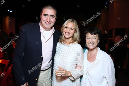 BURBANK, CA - JULY 12: Alfred Molina, Amy Eldon and Jill Gascoine at a Special Screening of Disney's 'The Sorcerer's Apprentice' Benefitting The Creative Visions Foundation at Walt Disney Studios on July 12, 2010 in Burbank, California.