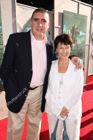 BURBANK, CA - JULY 12: Alfred Molina and Jill Gascoine at a Special Screening of Disney's 'The Sorcerer's Apprentice' Benefitting The Creative Visions Foundation at Walt Disney Studios on July 12, 2010 in Burbank, California.