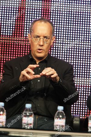 Stock Picture of BEVERLY HILLS, CA - JULY 29: Producer Jimmy Mulville at Showtime's 2010 Summer TCA Panels on July 29, 2010 at The Beverly Hilton Hotel in Beverly Hills, California.