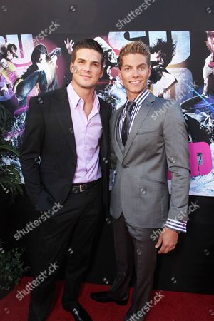 Stock Photo of HOLLYWOOD, CA - AUGUST 02: Rick Malambri and Joe Slaughter at Touchstone Pictures' 'STEP UP 3D' World Premiere on August 02, 2010 at the El Capitan Theatre in Hollywood, California.