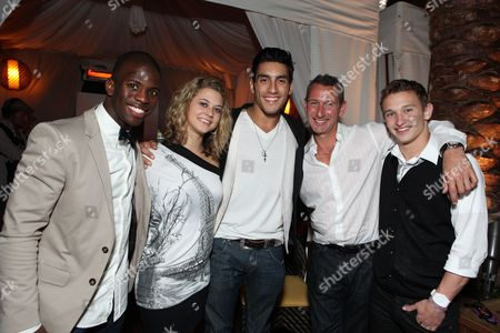 HOLLYWOOD, CA - AUGUST 02:**EXCLUSIVE** Adechike Torbert, Lauren Froderman, Robert Roldan, Producer Adam Shankman and Kent Boyd at Touchstone Pictures' 'STEP UP 3D' World Premiere on August 02, 2010 at the El Capitan Theatre in Hollywood, California.