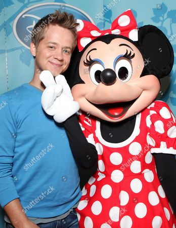 SANTA MONICA, CA - AUGUST 06: Jason Earles and Minnie at the Opening of the new Disney Store at Santa Monica Place on August 05, 2010 at Santa Monica Place in Santa Monica, California.